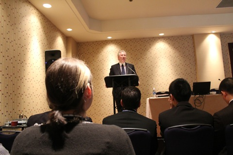 Doug Kelsey, CEO of BC Rapid Transit Company (SkyTrain).