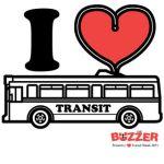 I Love Transit Week Logo 2011