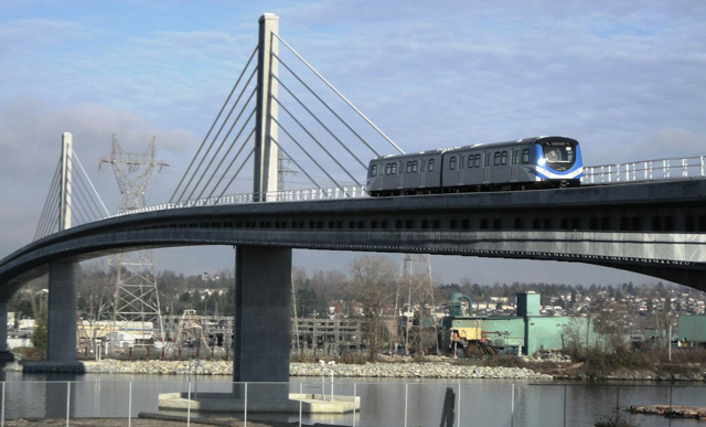 Canada Line and Bridge