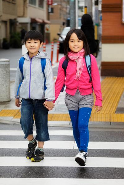International walk to school week!