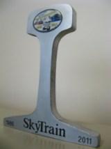 SkyTrain Commemorative Rail