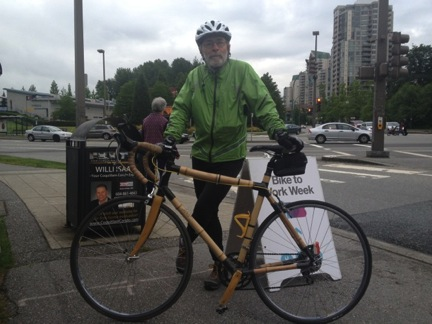 Dave Rush cycled over 12,000 KM last year!
