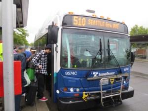 #510 to Seattle (Sound Transit)