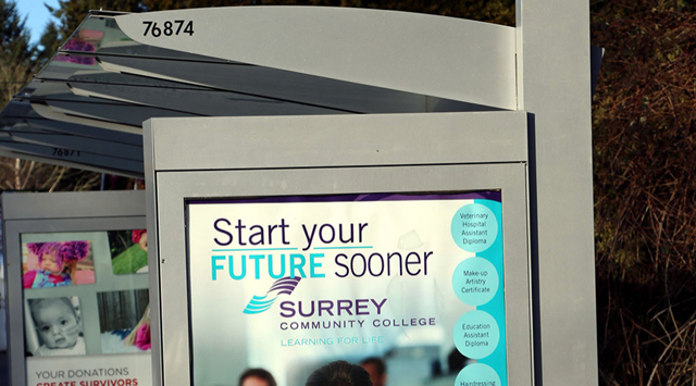 Let the City of Surrey know where you'd like a bus shelter!