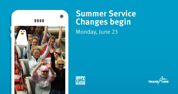 June Service Changes