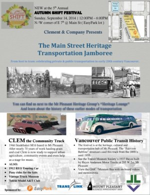 Vintage buses, trucks and more this Sunday!
