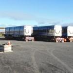 B C2 C1 cars on trailers