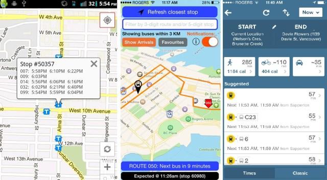 transit app