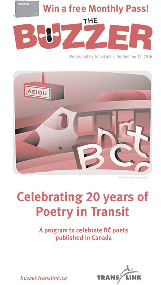 Image result for poetry in transit