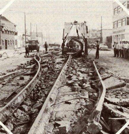 rail removal
