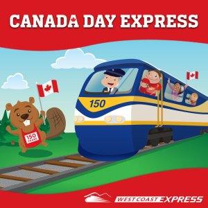 WCE Canada Day Train