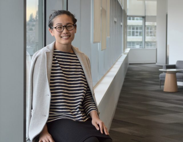 Photo of Sarah Tseng, Senior Planner at TransLink