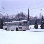 Winter scene at Blanca Loop circa 1971