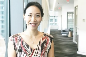 Eve Hou, TransLink's project manger for new mobility
