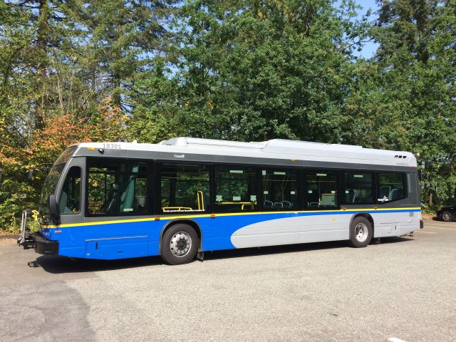 The Buzzer blog » A look at the new TransLink buses entering
