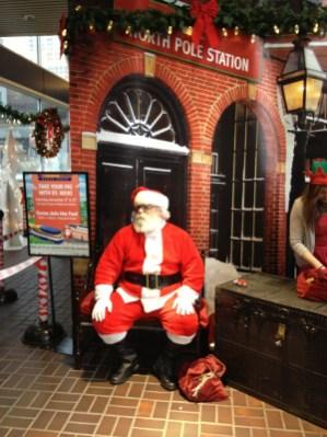 Santa at WF2012