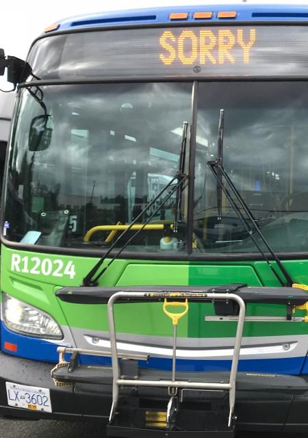 TransLink green bus