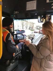 Van Tech bus driver appreciation
