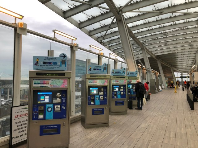 New colour-coded maps on Compass Vending Machines makes trip planning easier for transit users at YVR–Airport Station.