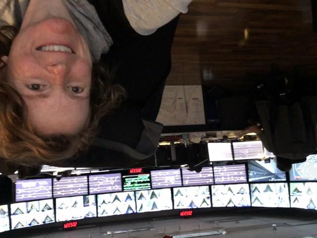 Annnaliese Hunt, a control operator at SkyTrain