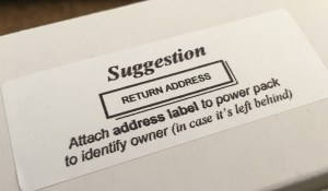 quiz buzzer power pack suggestion label