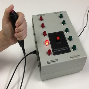 quiz lockout console 10 players hand buttons