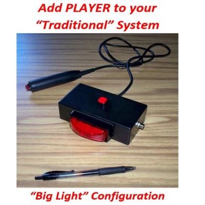 promo quiz player box bright lights