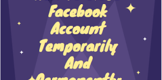 How to close Facebook account temporarily and permanently | How to #DeleteFacebook