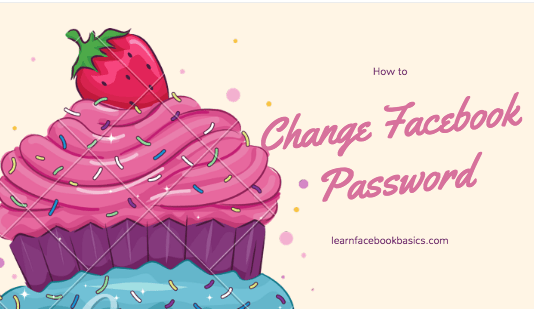 How to change a password on Facebook Account