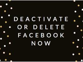 Deactivate or Delete Facebook now | How to #DeleteFacebook