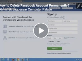 How to Delete your Facebook account permanently Right Now? | How to #DeleteFacebook