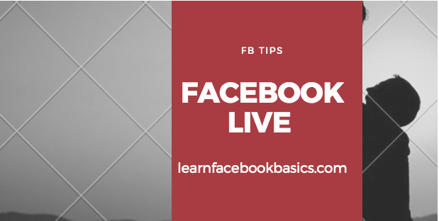 How to Go Live on Facebook   Facebook Live