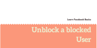 How to Unblock My blocked Facebook friends