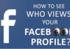 How to Check who Has Viewed My Facebook Profile