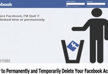 How to Permanently and Temporarily Delete Your Facebook Account 2019