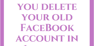 How to Delete old Facebook Account | Delete OLD FB Account Permanently Or Temporarily