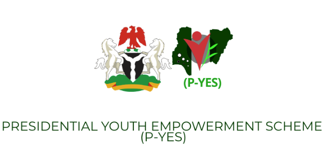 PYES Recruitment & Online www.p-yes.gov.ng portal Login