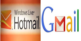 Gmail and Hotmail