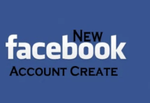 New Facebook Account Create – Facebook Sign Up