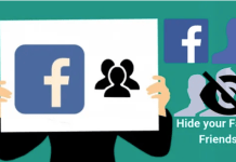 Hide Friend List On Facebook – How to Hide Friend List On Facebook – My Friends List On Facebook Location
