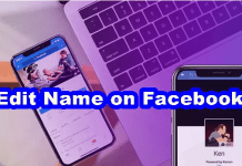 Edit Name on Facebook – How to Edit Name On Facebook Account / Add Name on Facebook
