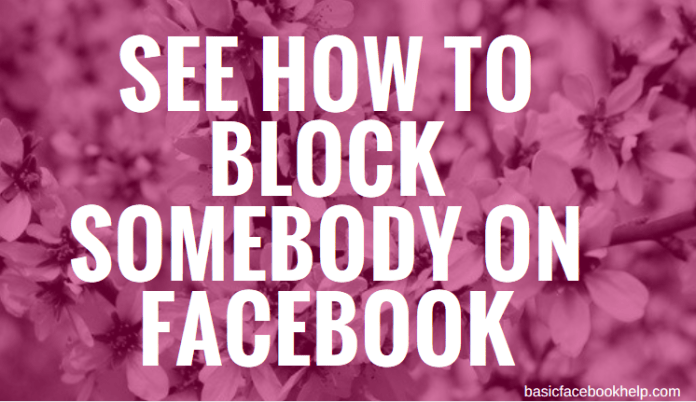 Block and unblock someone