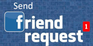 Send Friends Request On Facebook