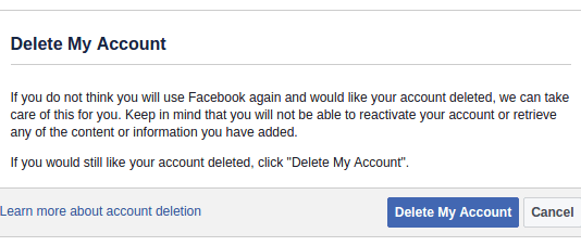 How Do I Delete My Facebook Account Permanently?