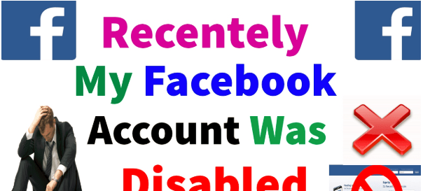 My Facebook Account Was Disabled