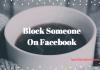 Block someone on Facebook Messenger - Blocking People on FB Messenger