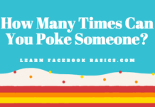 How Many Times Can You Poke Someone