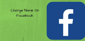 How can I change my facebook username