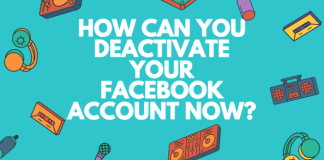 How to deactivate My Facebook account now permanently