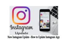 New Instagram Update – How to Update Instagram App